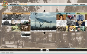 eastleigh historical timeline