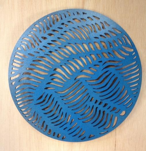 Laser cut disks