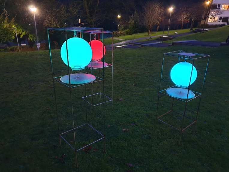 light sculptures in Southampton